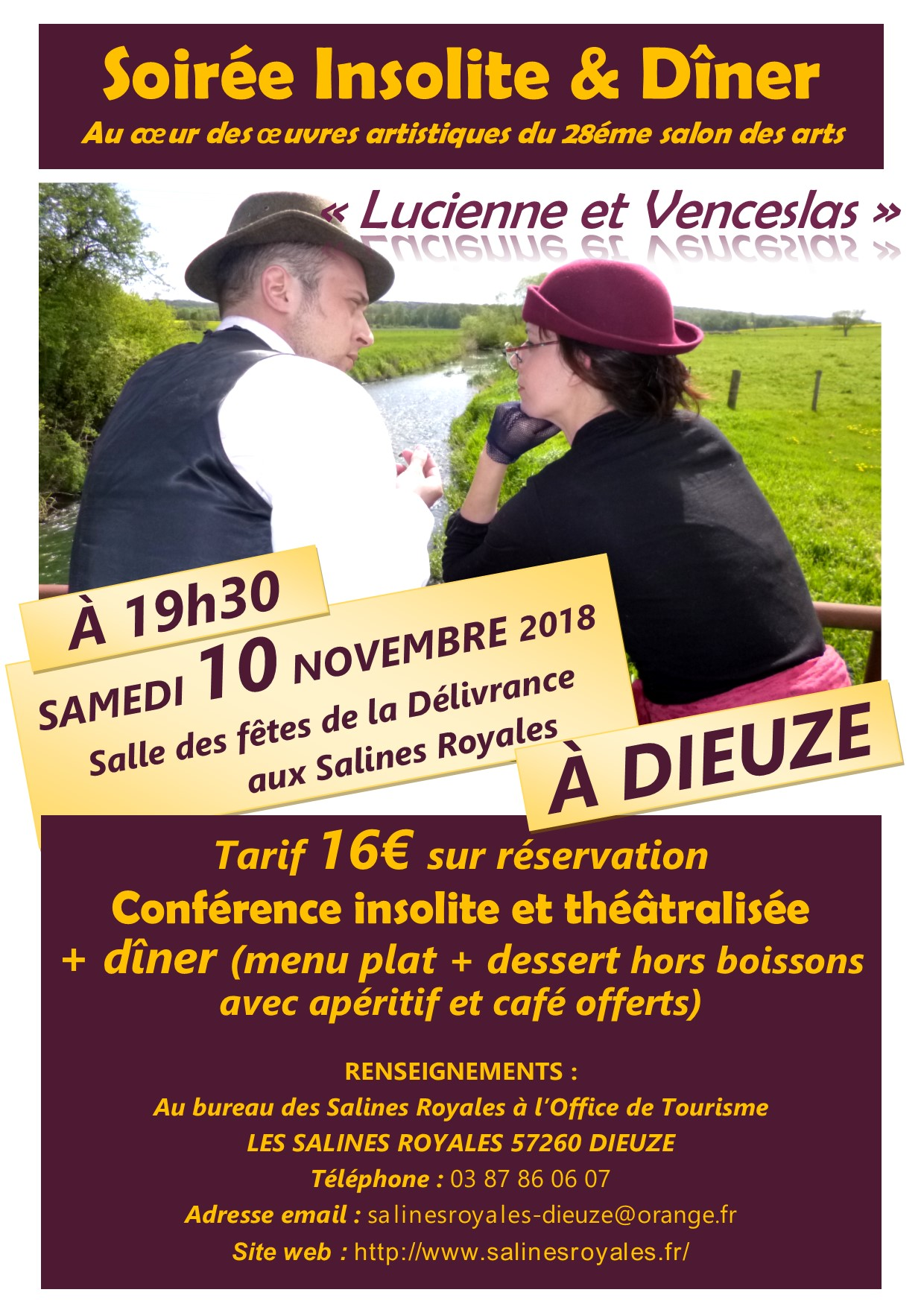 SALON DES ARTS 2018 FLYER 2